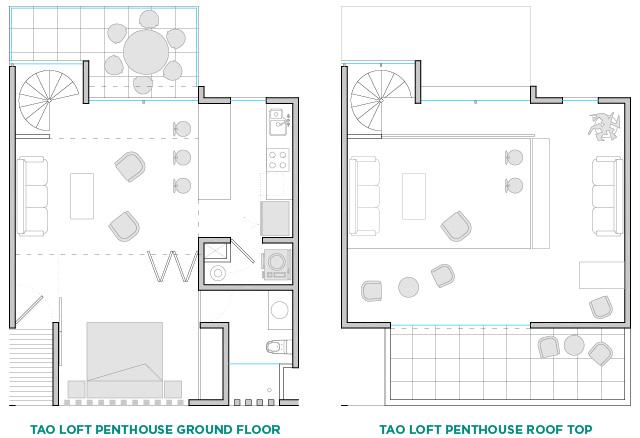 TAO Loft Penthouse Ground Floor