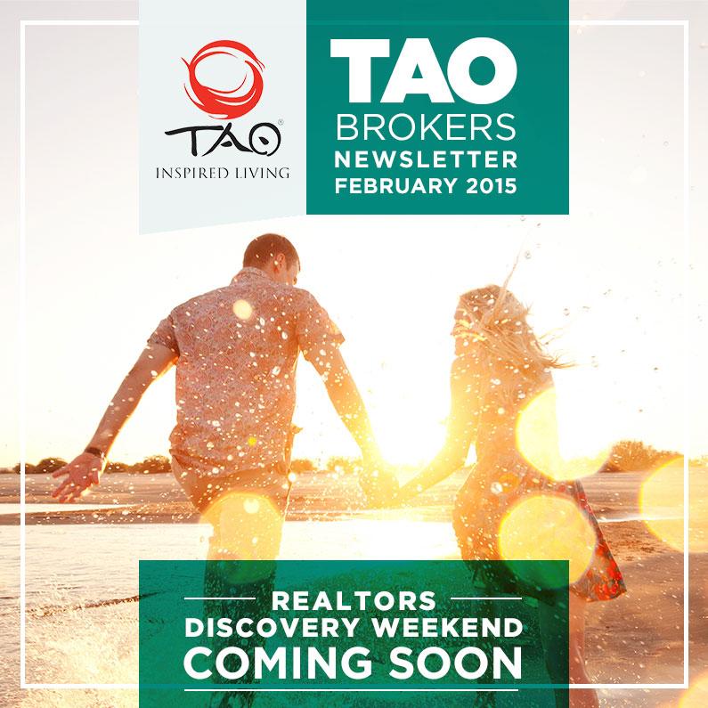 TAO Brokers Newsletter / February 2015 / TAO Inspired Living