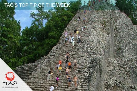 Climb the Pyramid at Coba
