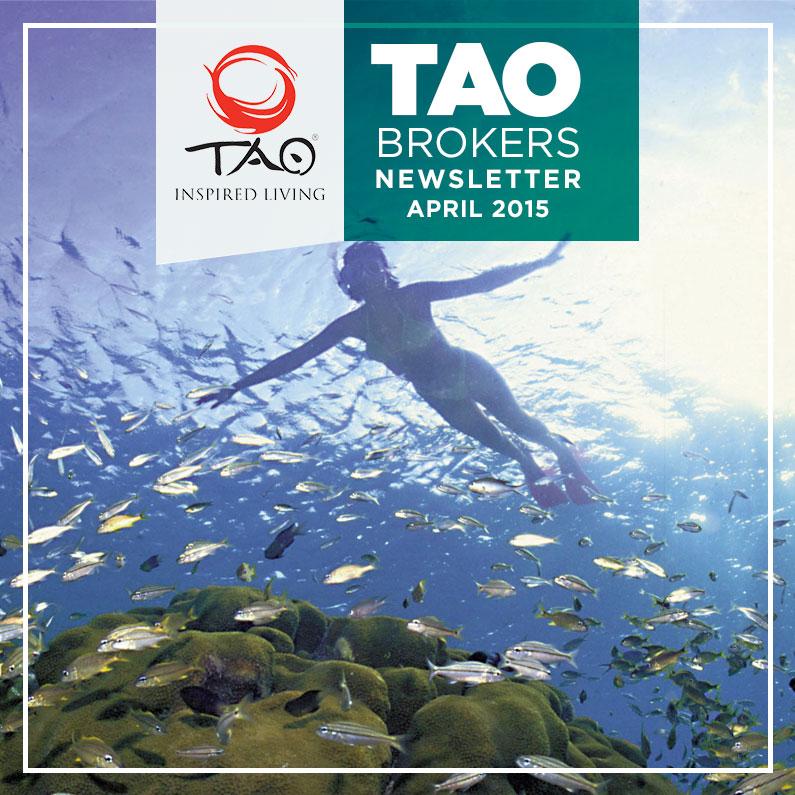 TAOlife Newsletter / April 2015 / TAO Inspired Living