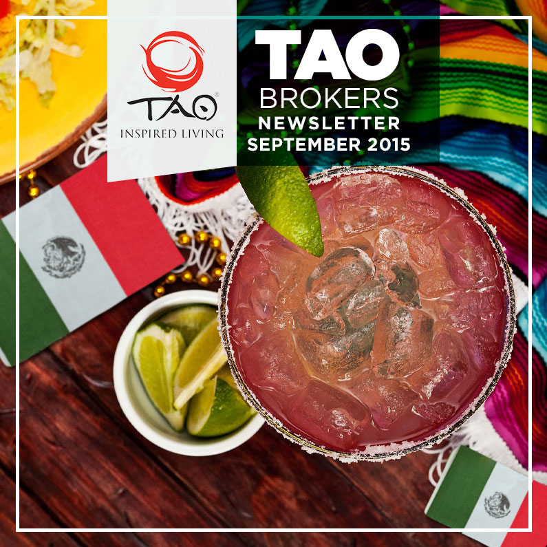 TAO Brokers Newsletter / September 2015 / TAO Inspired Living