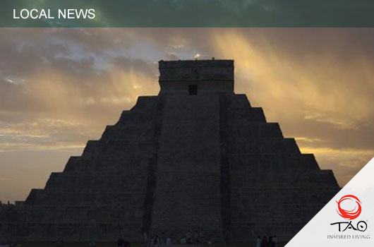 A Cenote was discovered underneath the Pyramid of Chichen Itza