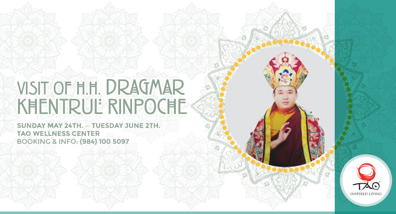 Visit of H.H. Dragmar Khentrul Rinpoche