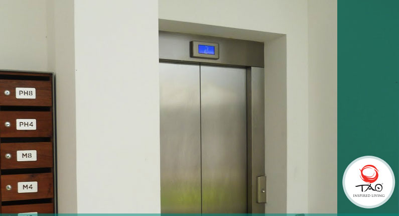 Training course in the case of anyone being stuck in on the elevators
