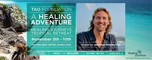 Jonathan Ellerby & Healing Journeys - A Healing Adventure