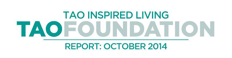TAO Foundation Report - October 2014