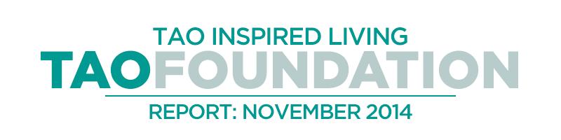 TAO Foundation Report - November 2014