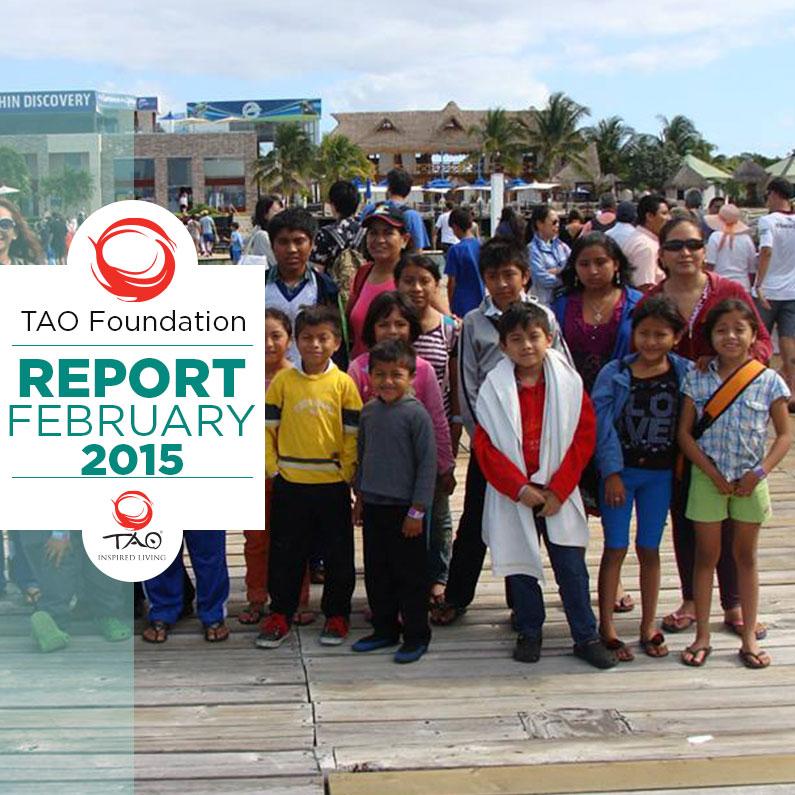 TAO Foundation Report | January 2015 | TAO Inspired Living