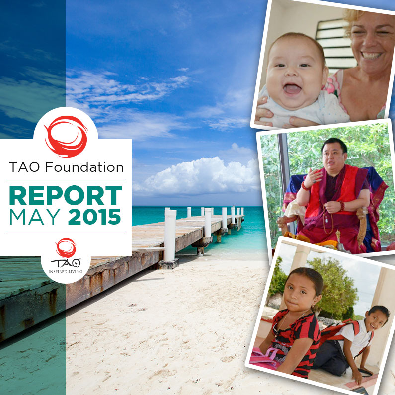 TAO Foundation Report   May 2015   TAO Inspired Living