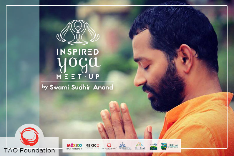 Inspired Yoga by Swami Sudhir Anand // Inspired Yoga con Swami Sudhir Anand.