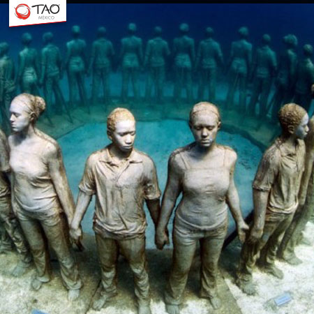 Underwater Museum shows Cancún is not only about spring breakers and tequila shots