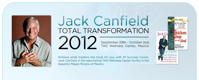Jack Canfield Event event is $1,790USD per person