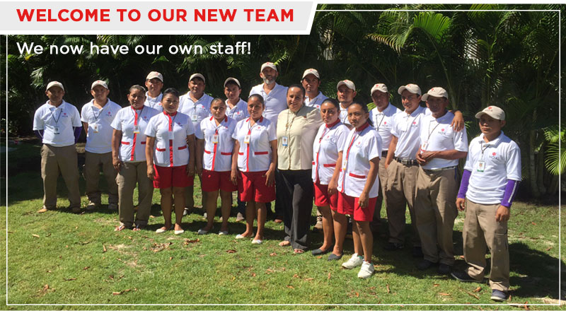 Welcome to our new team