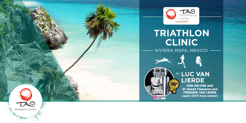 Upcoming Events at TAO - Triathlon Clinic with Luc Van Lierde 20-27 July 2014