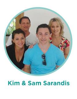 Kim & Sam Sarandis