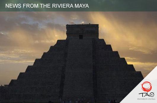 A Cenote was discovered underneath the Pyramid of Chichen Itza