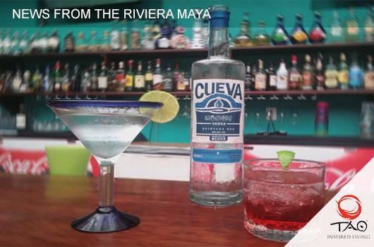 "Akumal, Home to New Artisanal Locally Brewed ""Cueva Vodka"""