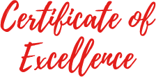 Certicate of Excellence